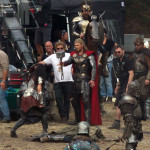 thor the dark world chris hemsworth 9 150x150 Chris Hemsworth Bashing Faces on Set of THOR THE DARK WORLD