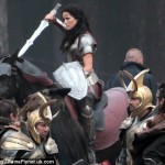 thor the dark world set 150x150 Orcs, Asgardians, and Lady Sif on Set of THOR: THE DARK WORLD