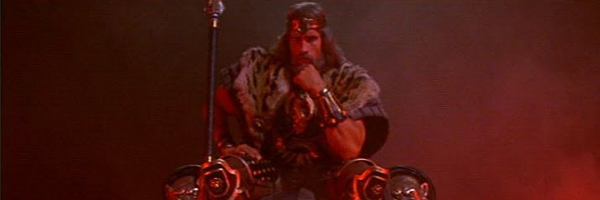 Arnold King Conan Banner Can the TERMINATOR save AVATAR 2?