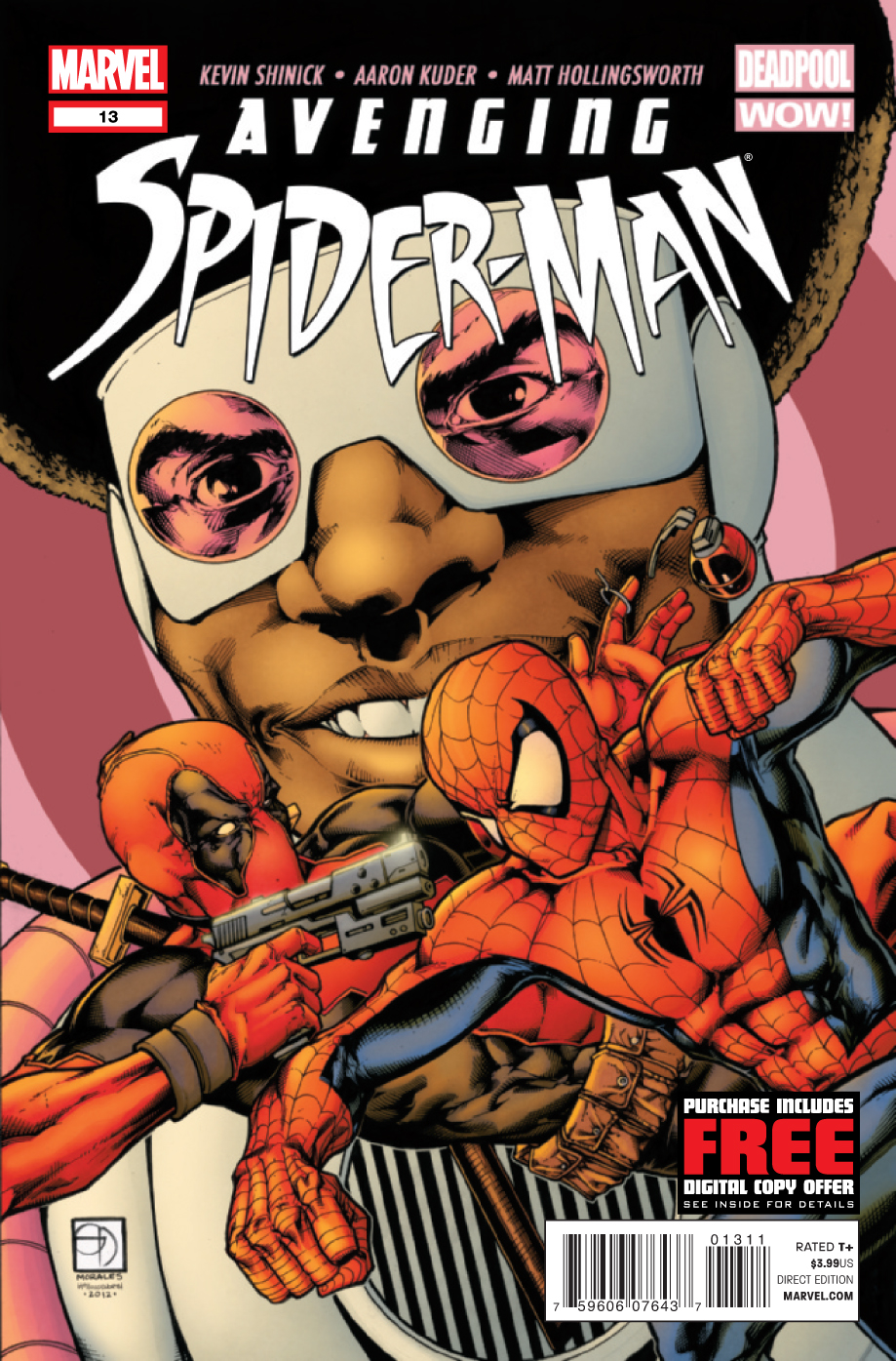 Avenging Spider Man 13 C Kevin Shinick Interview Part 2: AVENGING SPIDER MAN and MARVEL NOW!
