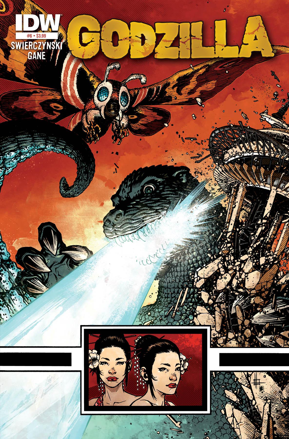 Godzilla 06 CvrA GODZILLA #6 Review