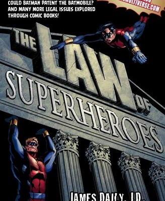 Law of Superheroes cover
