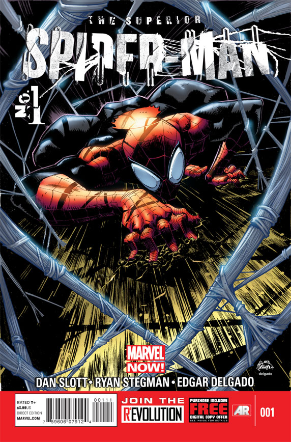 SuperiorSpiderMan 1 Cover Kevin Shinick Interview Part 2: AVENGING SPIDER MAN and MARVEL NOW!