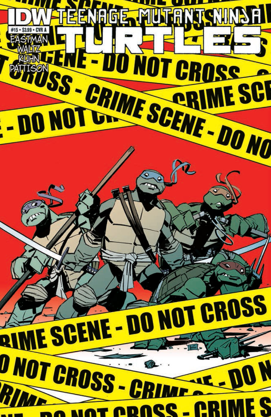 TMNT 15 C Teenage Mutant Ninja Turtles #15 Review