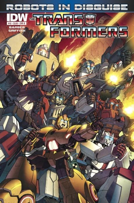 Transformers RobotsinDisguise 12 CvrB 462x700 Weekly Comic Reviews 12/12
