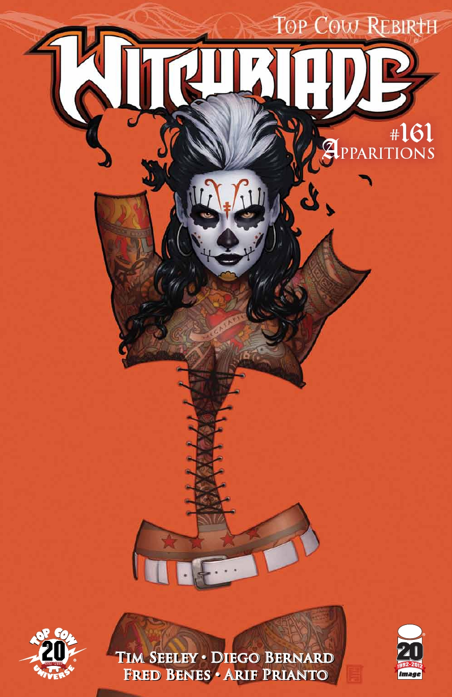 Witchblade 161 C ROUNDIN UP THE HERD: October Edition