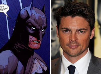 karl urban batman side by side CASTING CALL: Karl Urban As Batman