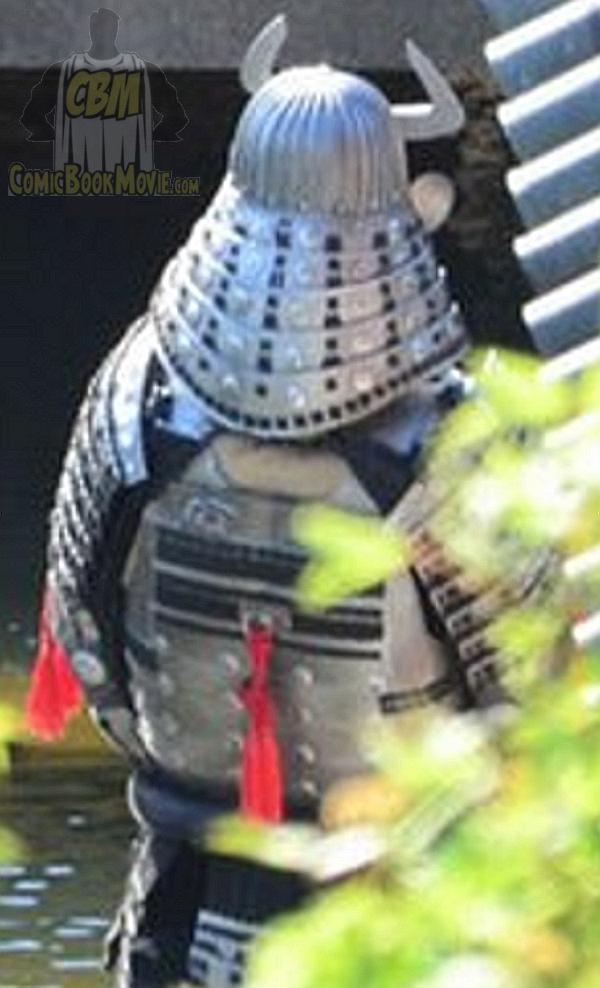 silver samurai Leaked Pic of Silver Samurai from THE WOLVERINE