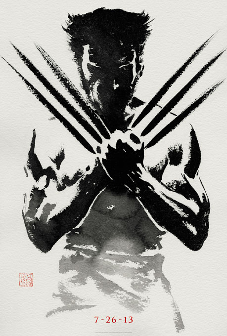 the wolverine poster First Teaser Poster For THE WOLVERINE Hits!