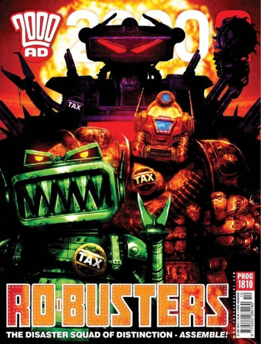 2000AD 1810 532x700 Weekly Comic Reviews 11/21