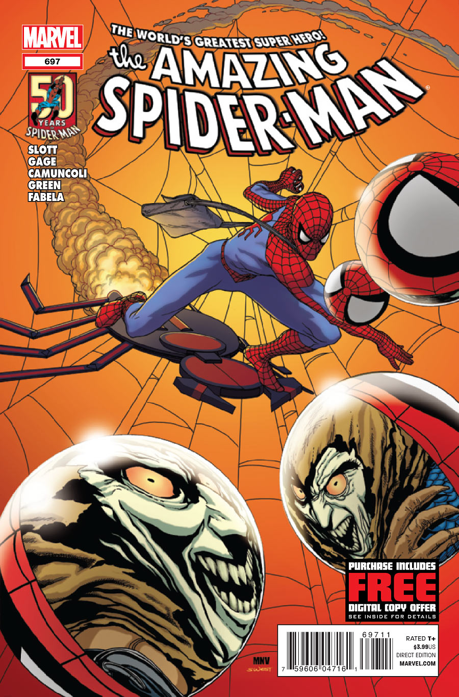 Amazing Spider Man 697 C Amazing Spider Man #697 Review