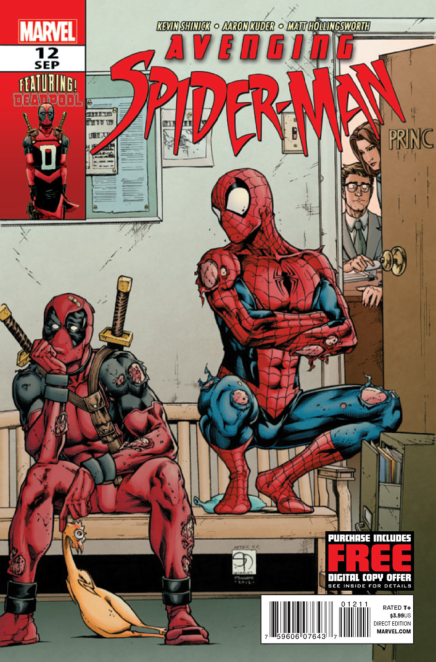 Kevin Shinick Interview Part 2: AVENGING SPIDER MAN and MARVEL NOW!