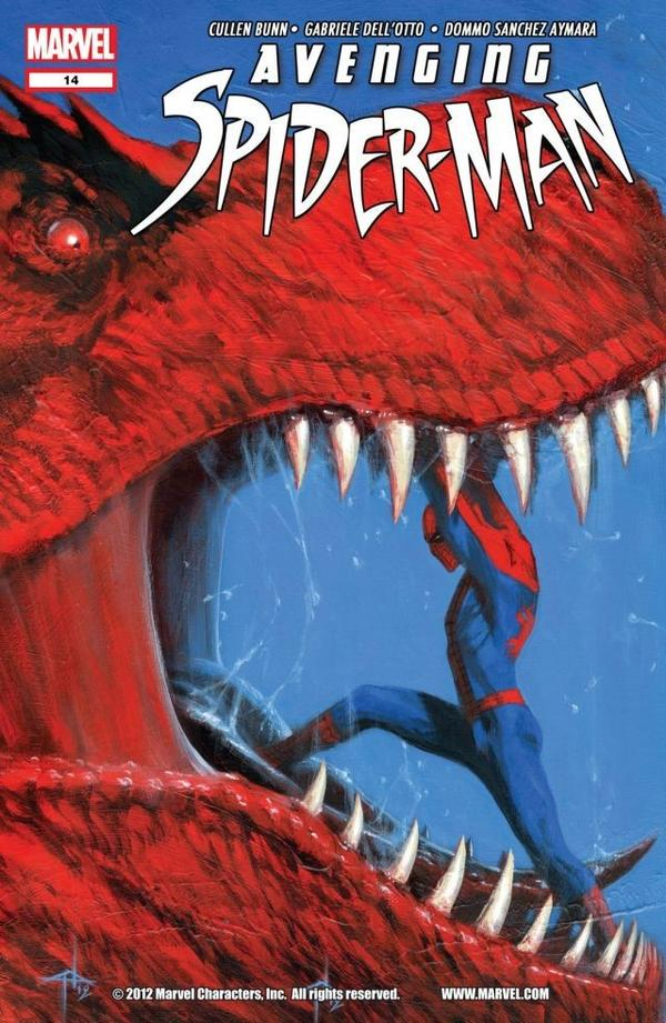 Avenging Spider Man 14 C Avenging Spider Man #14 Review