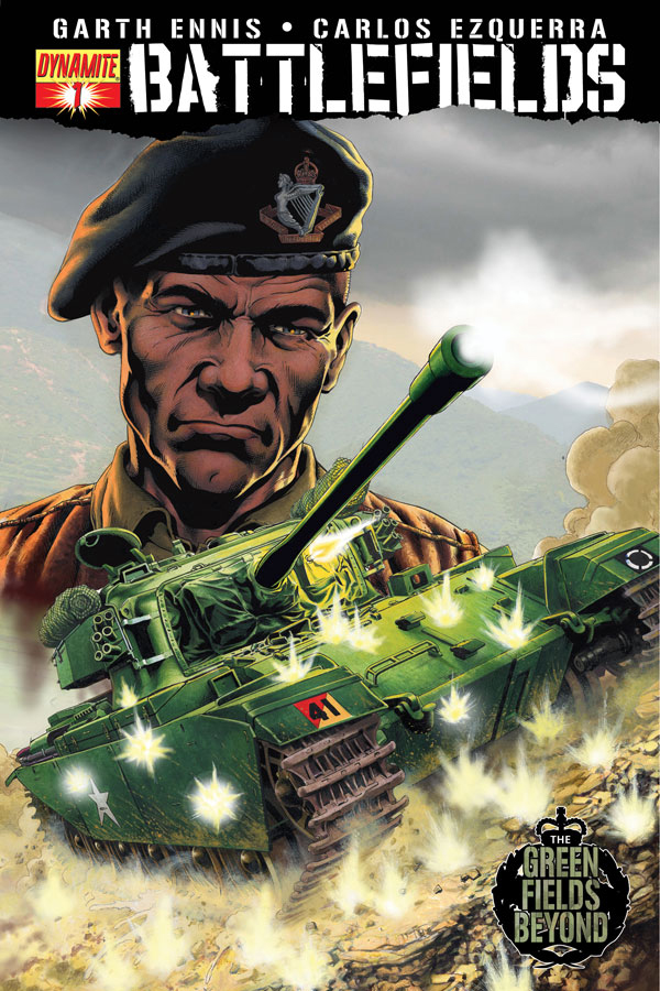 BFv2 01 Cov Leach Garth Ennis Battlefields: The Green Fields Beyond #1 Review