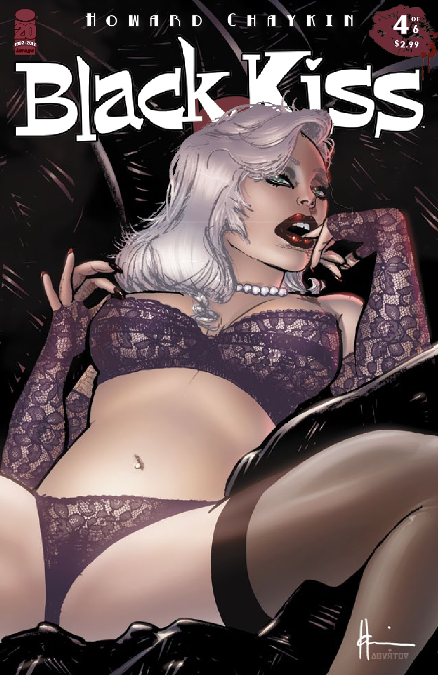 Black Kiss II 4 C Weekly Comic Reviews 11/7