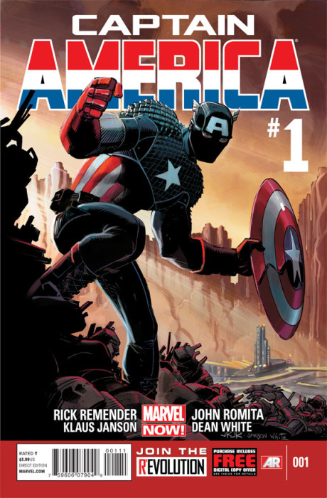 CaptainAmerica 1 Cover2 460x700 Captain America #1 Review