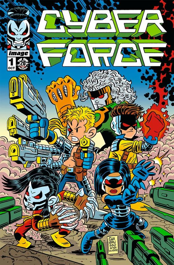 Cyber Force 1e ROUNDIN UP THE HERD: October Edition