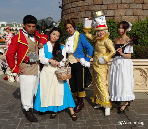 DSC00968 590x515 LE GEEK CEST CHIC: Top 10 Cosplay Tips   Straight From Tokyo Disneyland!