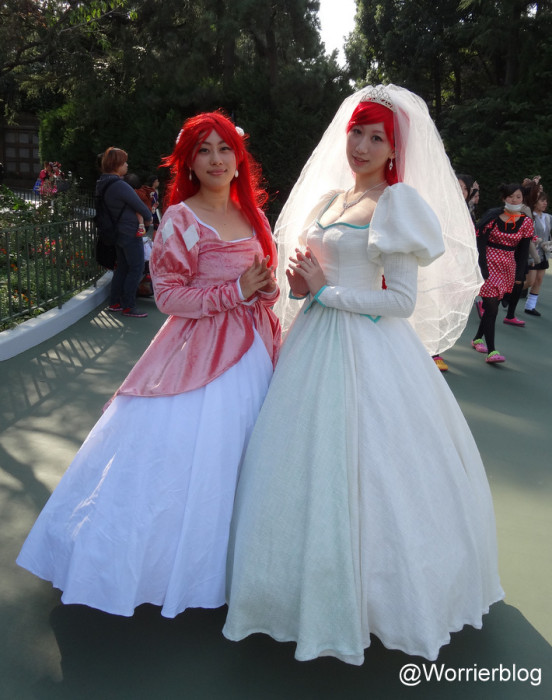 DSC01004 552x700 LE GEEK CEST CHIC: Top 10 Cosplay Tips   Straight From Tokyo Disneyland!