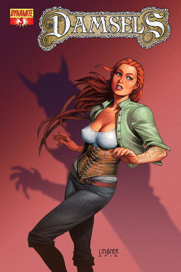 Damsels03 Cov Linsner Weekly Comic Reviews 11/14