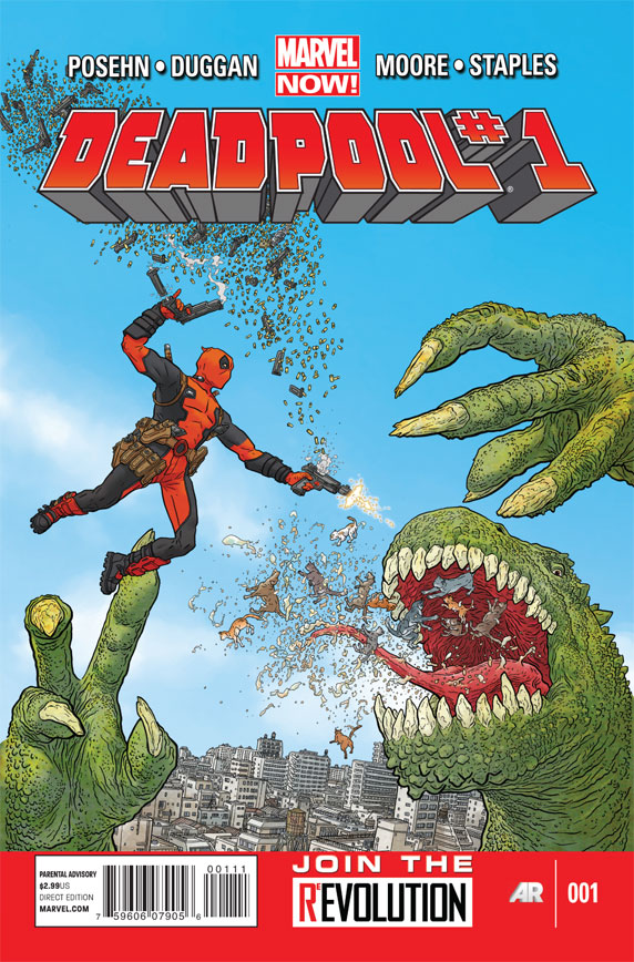 Deadpool 1 C Deadpool #1 Review