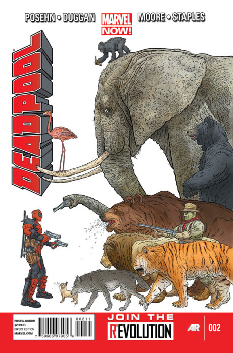 Deadpool 2 Cover 461x700 Deadpool #2 Review