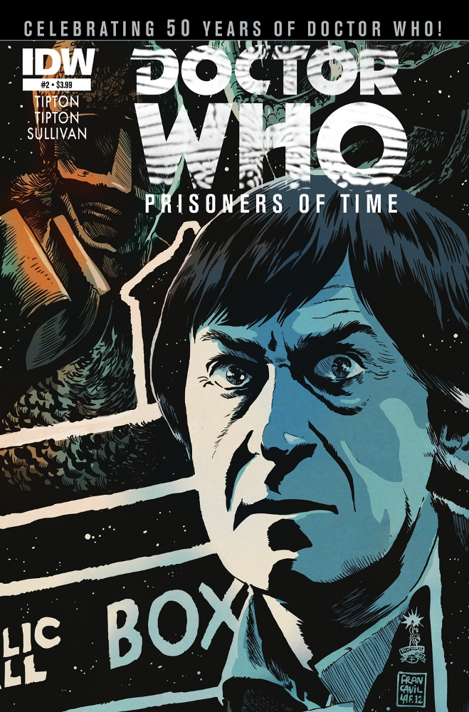 DoctorWho PrisonersofTime 02 CvrA IDW PUBLISHING Solicitations for FEBRUARY 2013