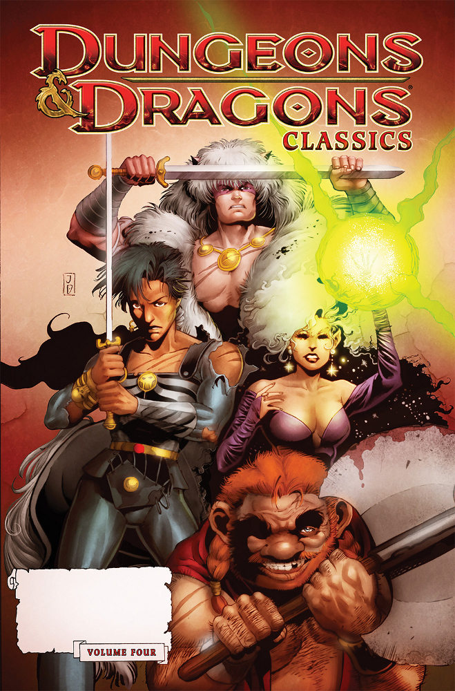 DungeonsDragons Classics Vol4 IDW PUBLISHING Solicitations for FEBRUARY 2013