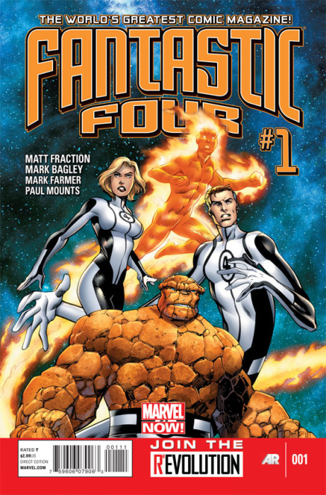 FantasticFour 1 Cover 461x700 Fantastic Four #1 Review