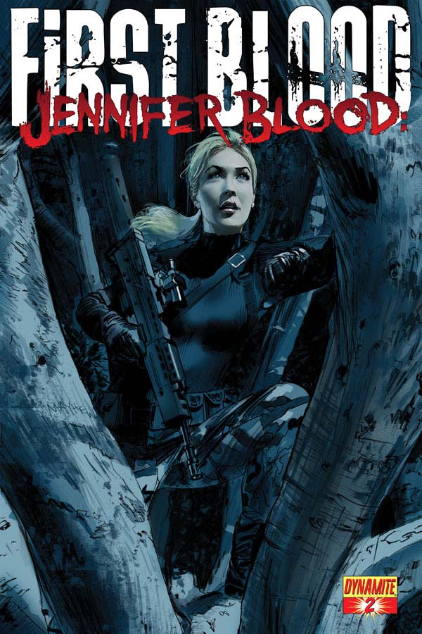 FirstBlood02 Cov Mayhew Weekly Comic Reviews 11/14