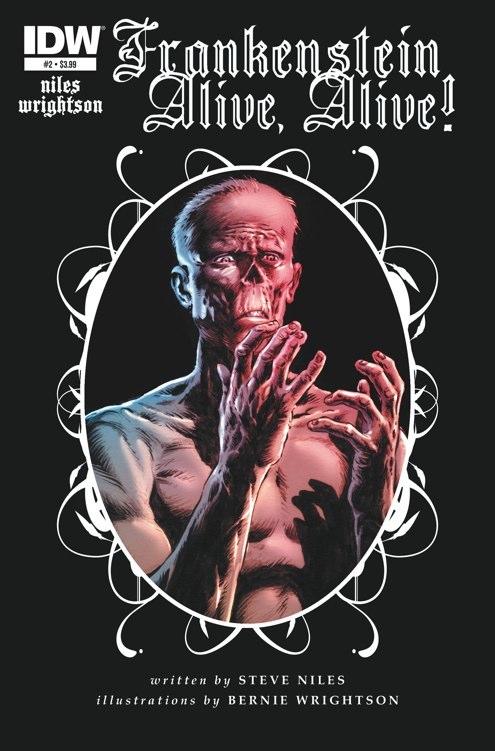 FrankensteinAliveAlive 02 CvrA Weekly Comic Reviews 11/21