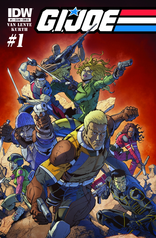 GIJOE New 01 CvrB IDW PUBLISHING Solicitations for FEBRUARY 2013