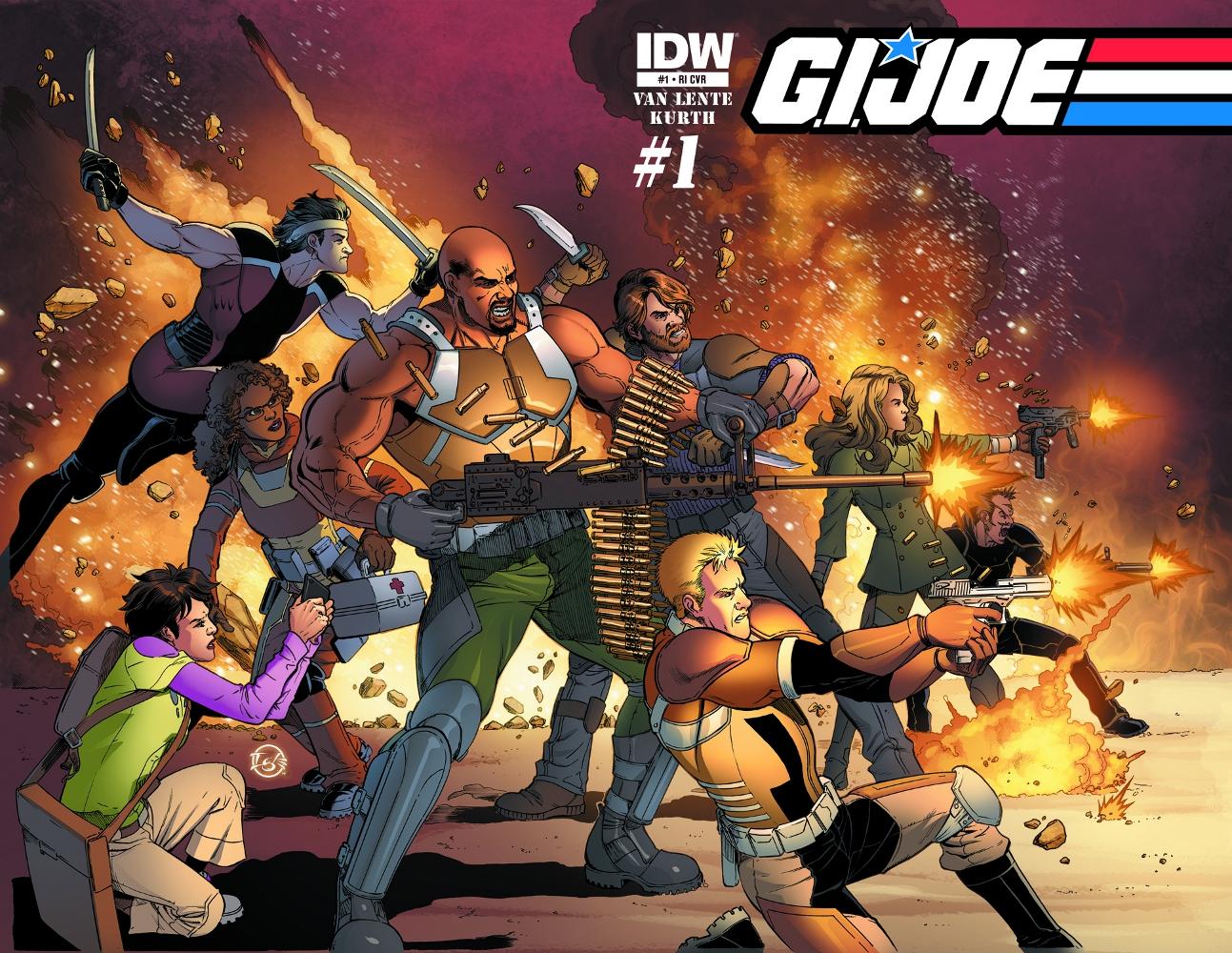 GIJOE New 01 CvrRI IDW PUBLISHING Solicitations for FEBRUARY 2013