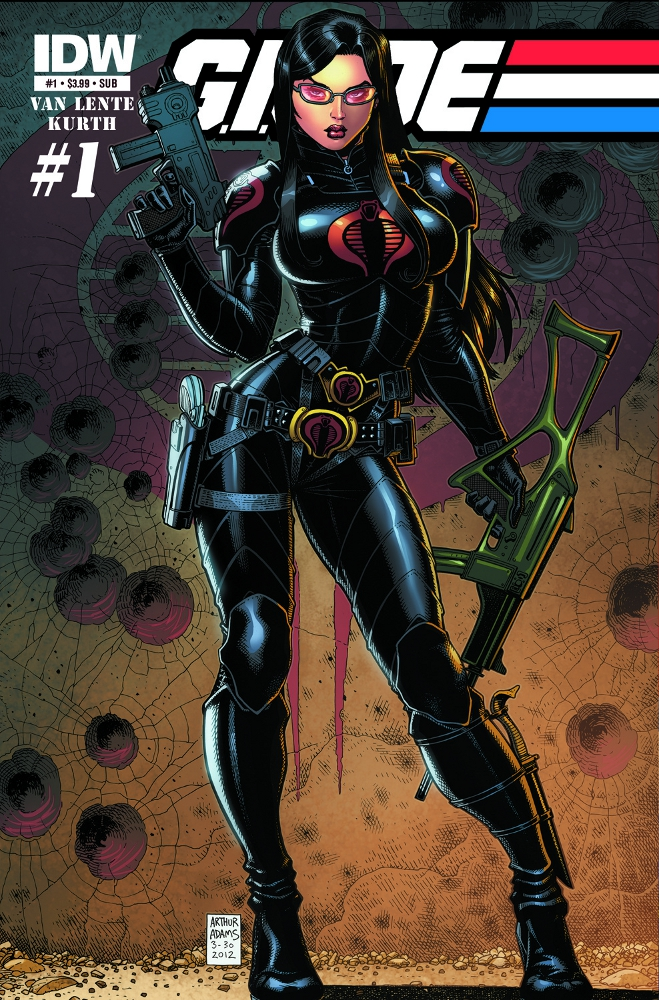 GIJOE New 01 CvrSUB IDW PUBLISHING Solicitations for FEBRUARY 2013