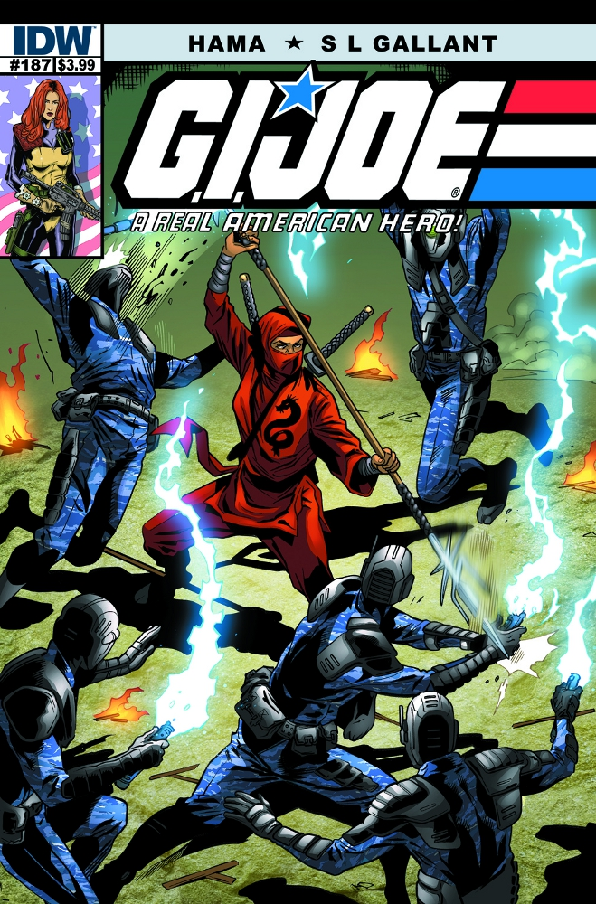 GIJoe RealAmericanHero 187 IDW PUBLISHING Solicitations for FEBRUARY 2013