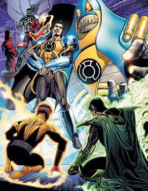 GL14 Retro Vision: Sinestro Corps War