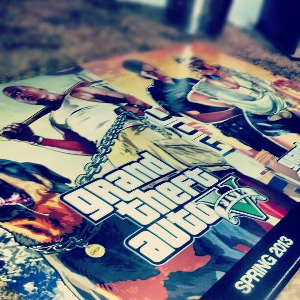 GTA V Poster 1 GTA V Trailer Imminent and Preorder Bonuses Leaked
