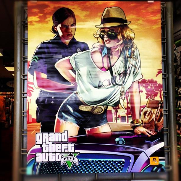 GTA V Poster 2 GTA V Trailer Imminent and Preorder Bonuses Leaked