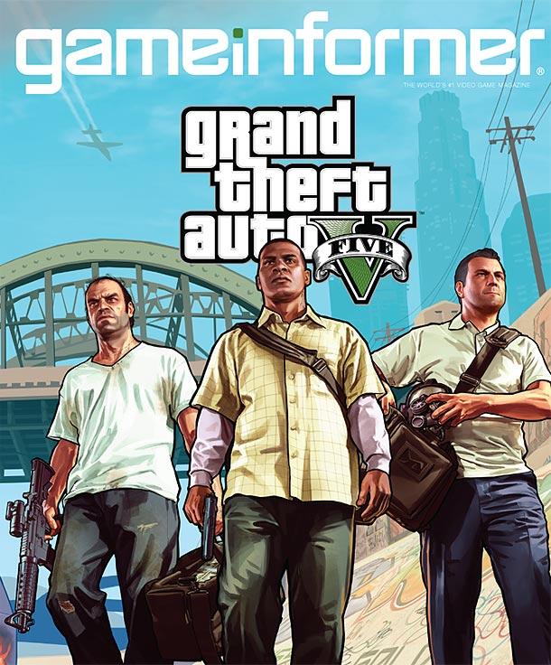 Game Informer GTA V GTA V Three Protagonists Revealed!