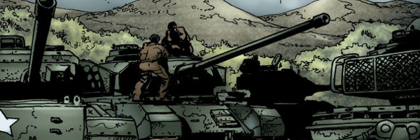 Garth Ennis Battlefields The Green Fields Beyond Banner Garth Ennis Battlefields: The Green Fields Beyond #1 Review