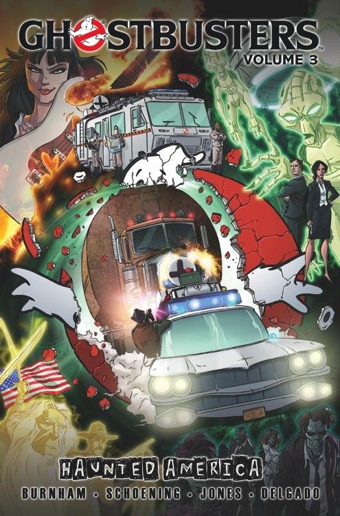 GhostbustersTPB Vol3 Ghostbusters Volume 3: Haunted America Review