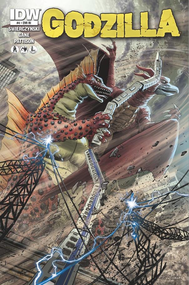 Godzilla 04 CvrRI GODZILLA Volume 1 Review