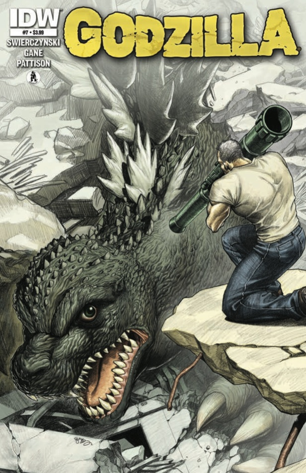 Godzilla 07 CvrA Weekly Comic Reviews 11/28