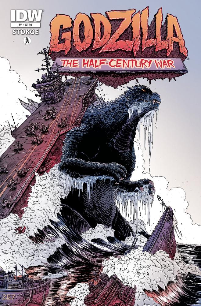 Godzilla HalfCenturyWar 05 IDW PUBLISHING Solicitations for FEBRUARY 2013