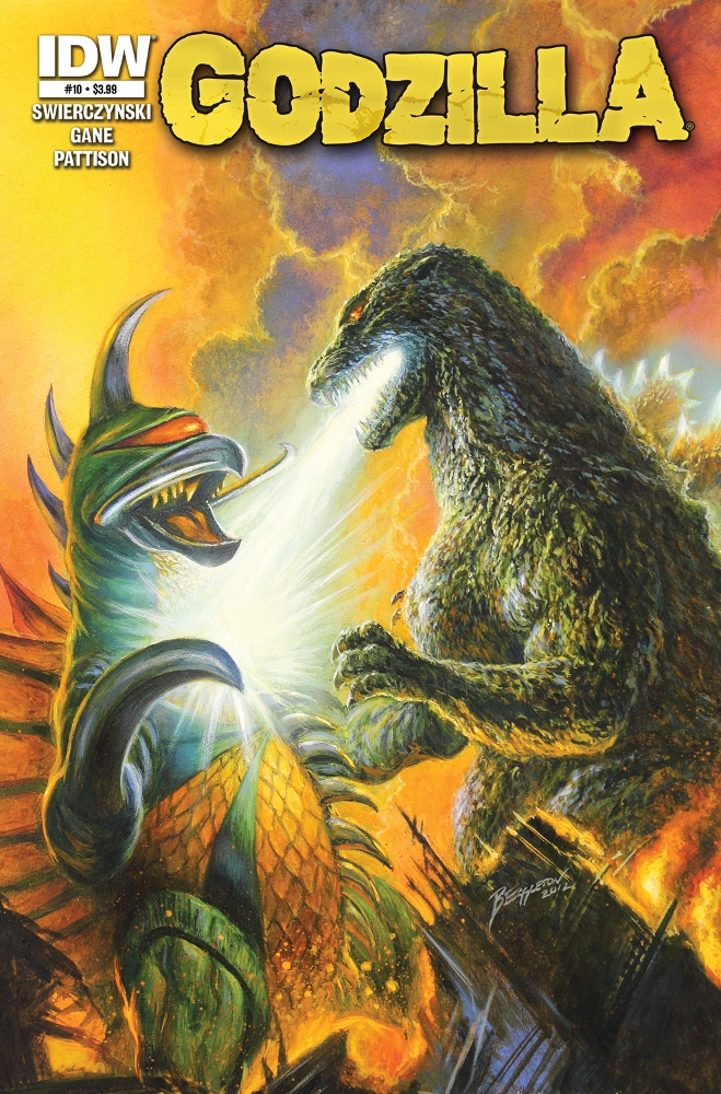 Godzilla Ongoing 10 IDW PUBLISHING Solicitations for FEBRUARY 2013