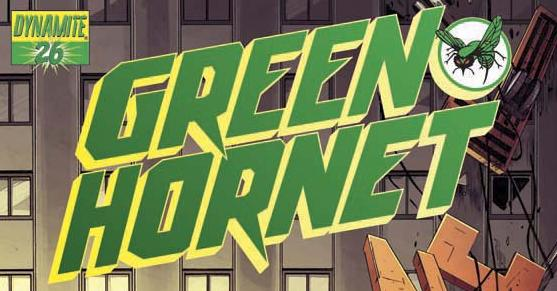 Green Hornet Header Green Hornet #30 Review