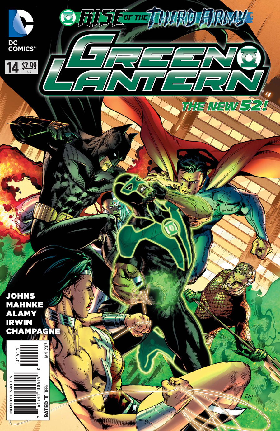 Green Lantern 14 C Green Lantern #14 Review