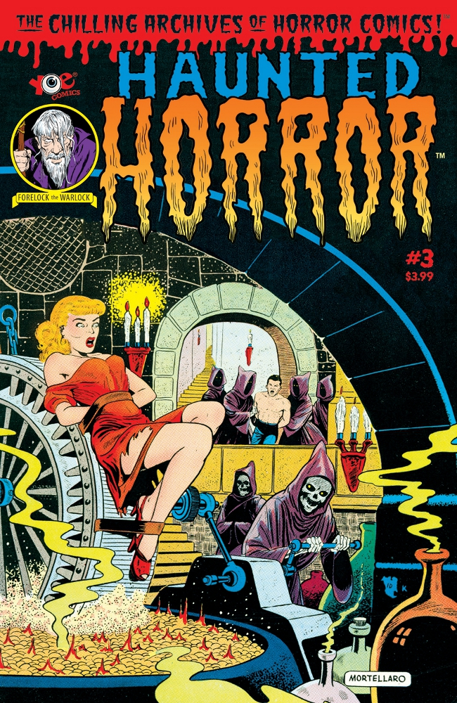 HauntedHorror 03 IDW PUBLISHING Solicitations for FEBRUARY 2013