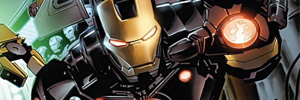 Iron Man Marvel NOW Banner Iron Man #1 Review