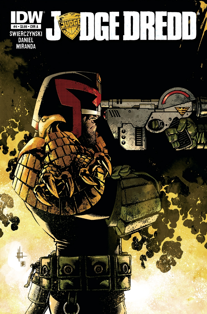JudgeDredd 04 CvrA IDW PUBLISHING Solicitations for FEBRUARY 2013